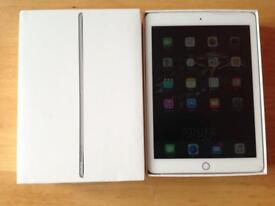 Brilliant apple iPad Air 2 16 GB cellular EE silver & white perfect condition boxed