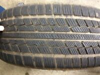Pair of winter tyres