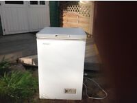 Small chest freezer for sale.