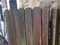 Garden gate wooden refurb required but would come up lovely when done save a fortune Leeds