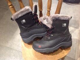 Karrimor winter boots size 5.5 like new