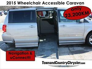 2015 Dodge Grand Caravan Crew ***Wheelchair accessible***