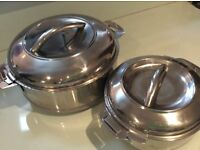 Insulated food dishes