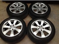 """16"""" Alloys for a VW Golf Mk 5 PCD 5 x 112 with great 205/55R16 Tyres"""
