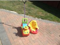 Sit and ride toys