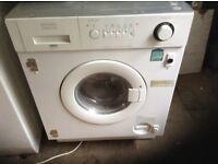 Zanussi washer dryer,integrated,£145.00