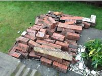 Old bricks. Free!