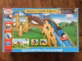 Thomas at Tumblin' bridge set