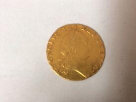 1789 Gold Guinea