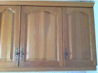 Wide Range of 20 Attractive Kitchen Units & Built- In Fridge - Bargain Price