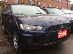 2010 Mitsubishi Outlander 4 Cyl. SUV Very Clean AllPower Heated