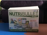 Nearly new Nutribullet Baby