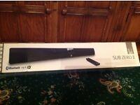 SUB ZERO ll TV Soundbar with Bluetooth APT-X