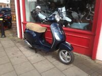 PIAGGIO VESPA LX 125cc 3v MOT OCT 2018 FULLY SERVICED NEW DRIVE BELT & ROLLERS VERY LOW MILES