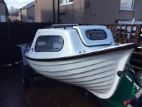 Moorhen boat with cuddy(no trailer or engine)