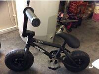 Boys black bmx rocker irok bike