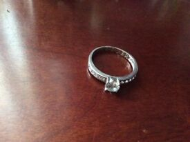 Sterling Siver Cubic Zirconia ring