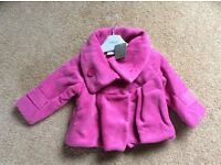 NEW with tag NEXT Girls Jacket age 9-12 months