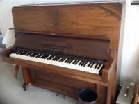 Free to Collect Max Nuemeyer Upright Piano, no longer used