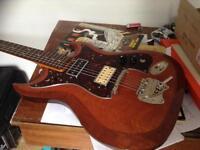60's Hagstrom guitar vintage and rare Nirvana Zappa