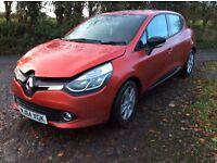 2014 Renault Clio Petrol Turbo (light damage) *price drop*