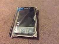 Yousave Accessories S6 Edge PU wallet black- brand new