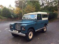 "Land Rover 88"" CYL 1979 Milage 65,000 12 months mot"