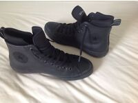Converse CFAS ll Hi Black weatherproof Boots Size 8