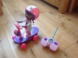 Doc McStuffins remote control scooter