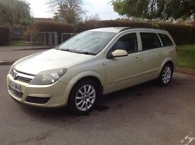 Vauxhall Astra Estate Low miles! Alloys Tow Bar M.O.T-May 2018