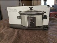 Brand new stainless steel slow cooker