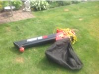 Garden leaf blower / hoover