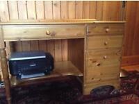 Ducal 'Victoria' pine desk