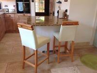 Pair of kitchen island stools