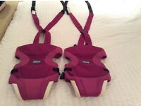 Chicco baby carrier two available individually priced