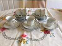 Florete china tea set