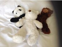 3 in 1 cosy teddy bear