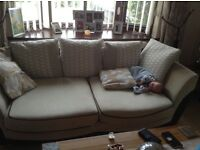DFS 3 seater sofa x 2