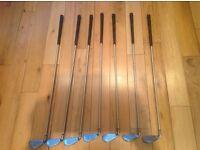 Ladies Callaway graphite x-14 golf clubs 5 iron to sand wedge