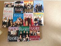 DVDs, Fraser, Two and Half Men, Yes minister and Cheers comedy sets in full