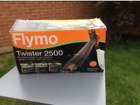 Flymo Twister 2500 electric garden blower and vacuum