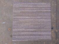 Carpet Tiles brown grey Heavy Duty Used