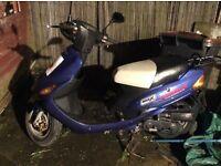 50cc scooter direct bike zn50QT-11 Mot till September it's a 64 reg