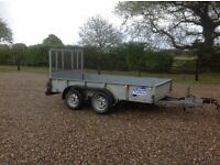 Ifor Williams 10x5ft trailer, tractor