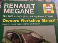 Megane workshop manual