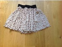 Zara ruffle skirt - new with tag