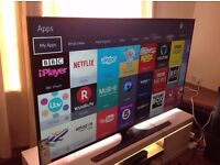 Samsung 55-inch Smart full 4K ULTRA HD LED TV-UE55JU6000,built in Wifi, Youtube,Freeview HD,Netflix