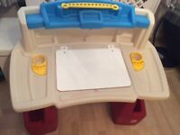 Step 2 Delux Art Activity Desk and chair