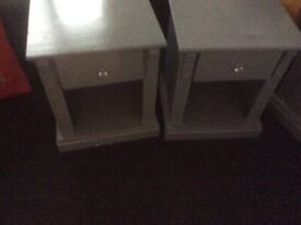 Bedroom furniture Chester drawers and 2 side cabinets