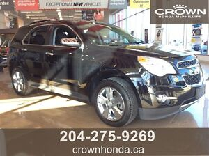 2012 CHEVROLET EQUINOX 2LT - SUNROOF AND BACK-UP CAMERA